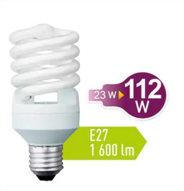 Sélection d'ampoules basse consommation en promotion - Ex: E27, 1600lm