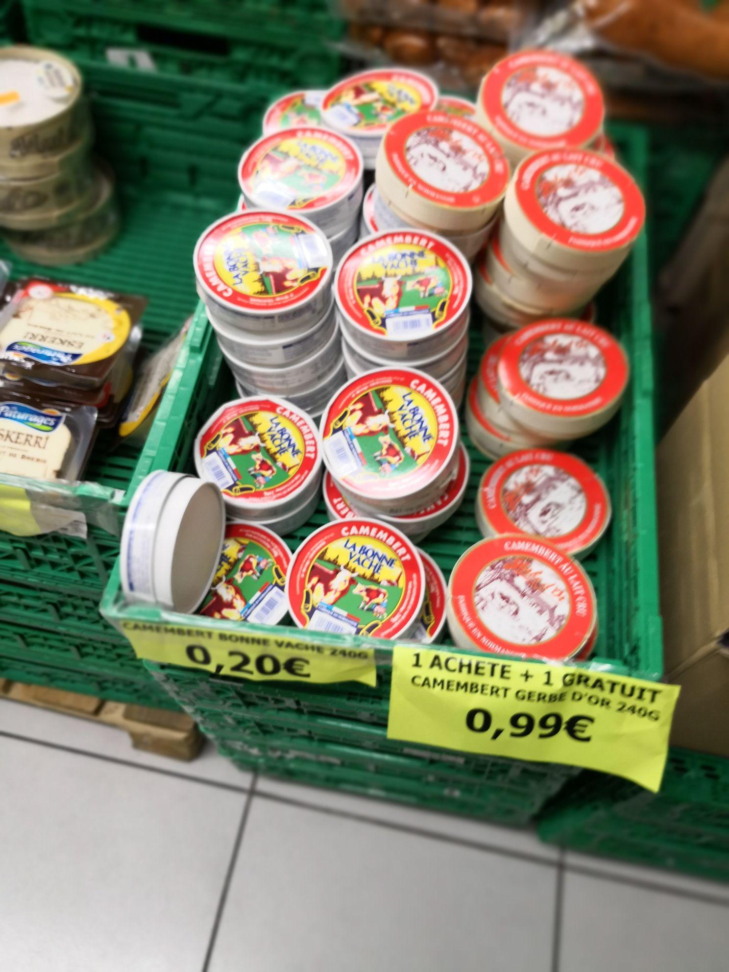 Camembert La Bonne Vache 240g - Dali Market Montélimar (26)