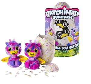 Animal interactif Spin Master Hatchimals Surprise - Jumeaux Giraven