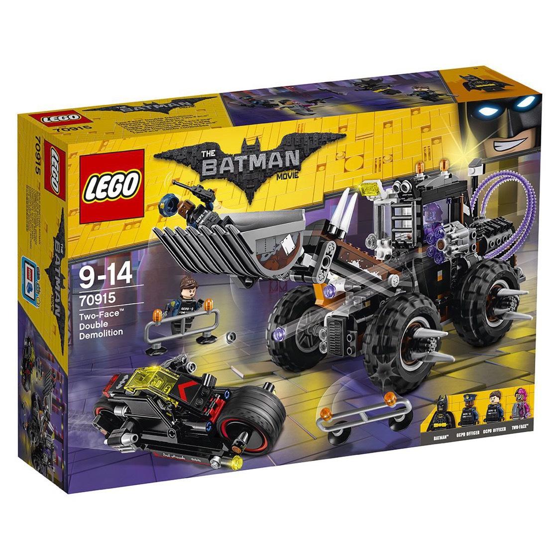 Lego La Fuite de Double-Face (70915)