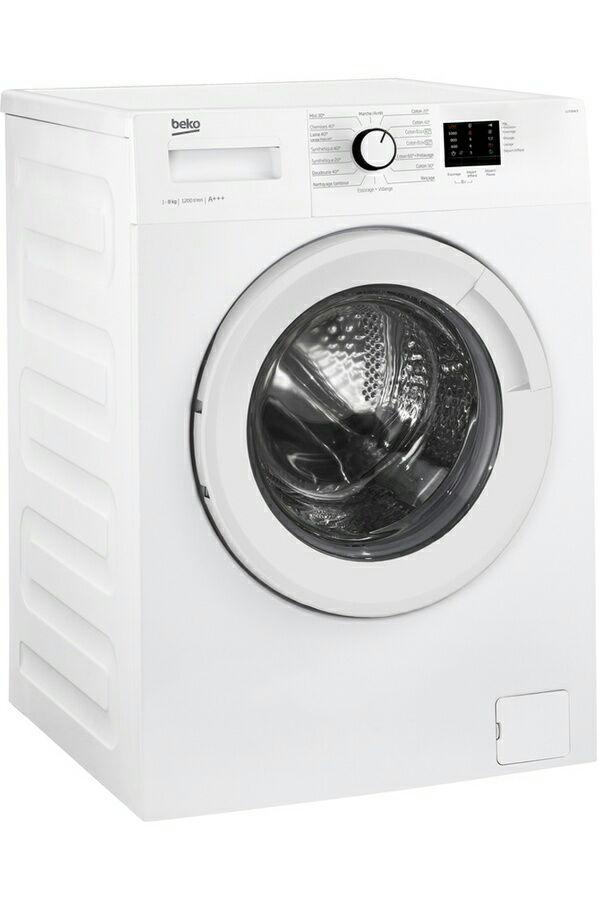 Lave linge hublot - BEKO LLF08W3 - Blanc