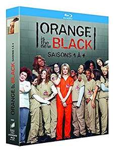 Coffret Combo Blu-Ray + Copie digitale Orange Is the New Black - Intégrale des saisons 1 à 4