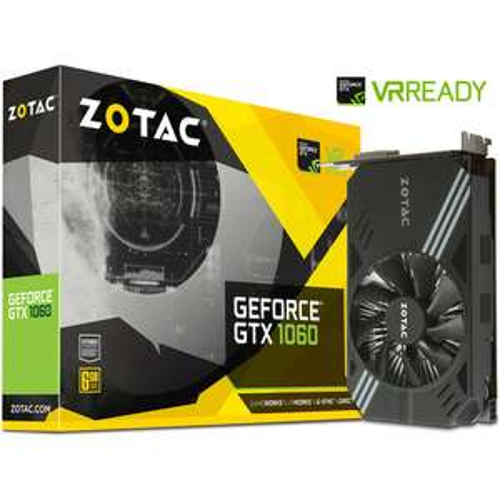Carte graphique Zotac GeForce GTX 1060 - 6 Go