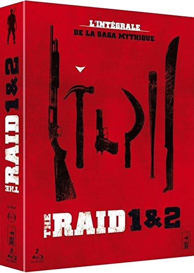 Coffret Blu-Ray The Raid 1&2