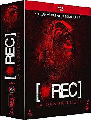 Coffret blu-ray Rec l'intégrale (4 films)