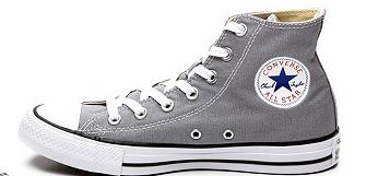 Sélection de Converse en promotion - Ex : Converse haute grise Chuck Taylor All Star