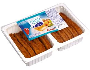 10 Panés de colin alaska Auchan (1 kg)
