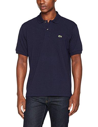 Polo pour homme Lacoste L1264 Bleu Brut - Small à XXXLarge