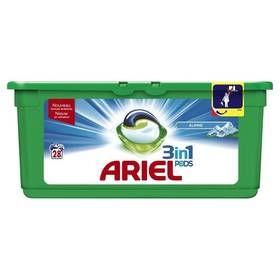 Lessive liquide Ariel pods x28 doses