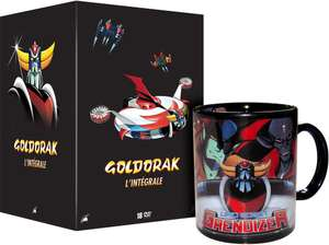 Coffret DVD Intégrale Goldorak - Version non censurée (avec Mug)