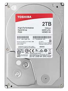 "Disque dur interne 3.5"" Toshiba P300 - 2 To, 7200 trs/min"