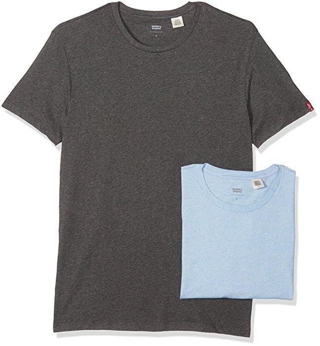 Lot de 2 t-shirts Levi's Pack Crew Tee à partir de 14.32€