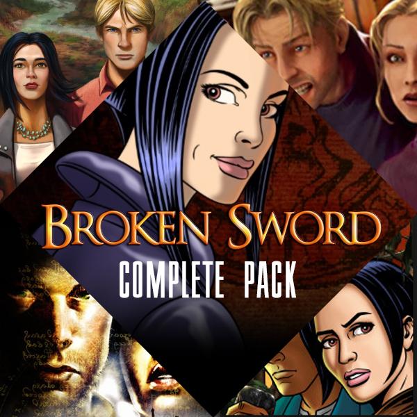 Broken Sword: Les Chevaliers de Baphomet - Complete Pack sur PC (Dématérialisé)
