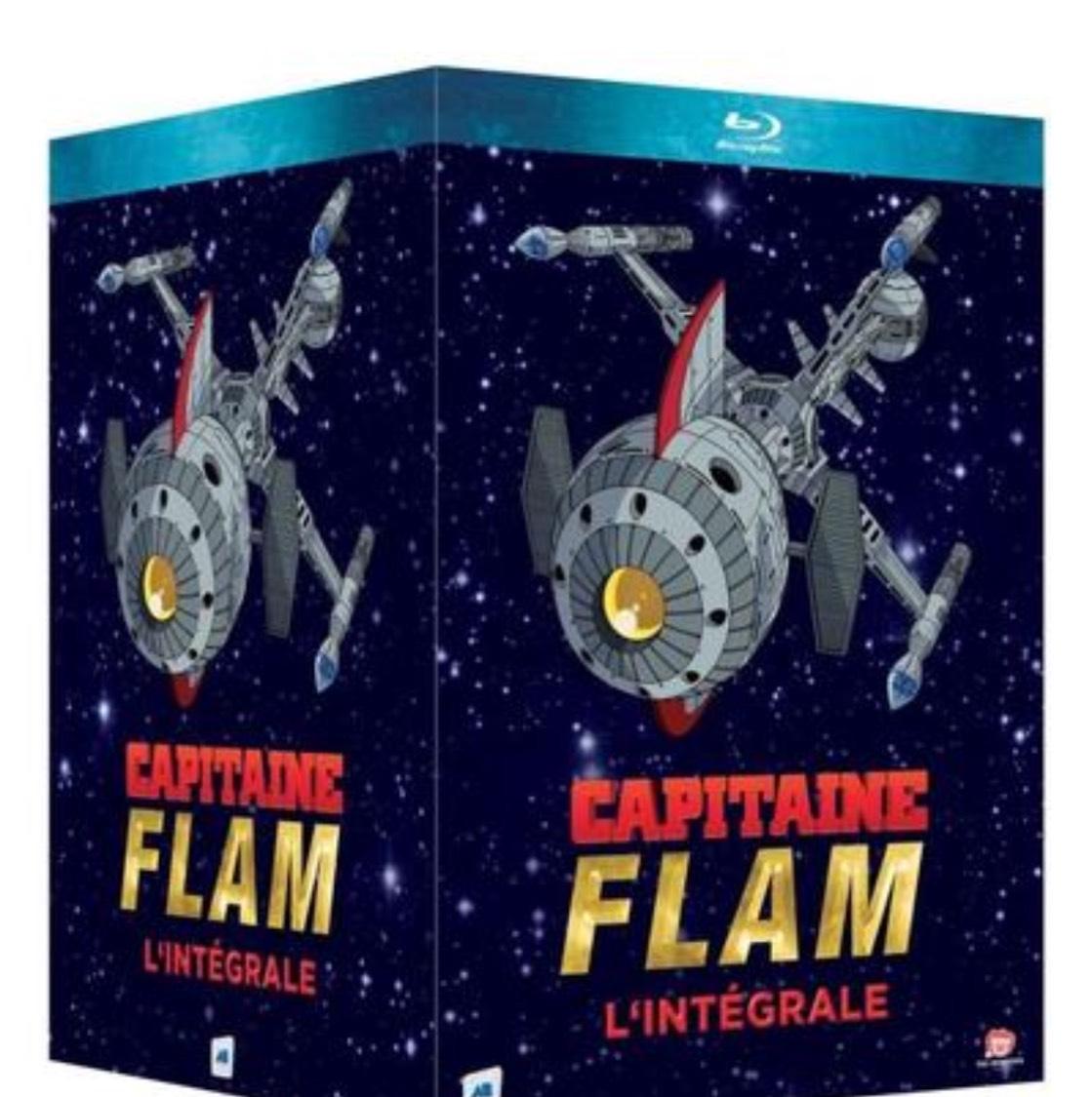 Coffret Blu-ray Capitaine Flam -  Intégrale (3 volumes)