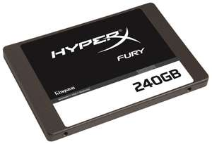 SSD interne 2.5″ Kingston HyperX Fury (MLC) – 240 Go