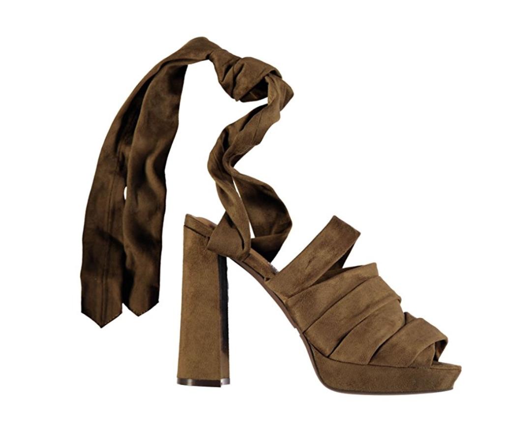 Sélection de chaussures Jeffrey Campbell en promotion - Ex: Modèle chablis marron