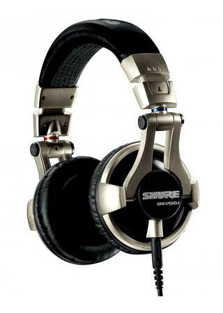 Casque Audio DJ Shure SRH750DJ - Noir