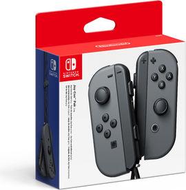 Paire de Joy-Con pour Nintendo Switch - Gris (Frontaliers Suisse)
