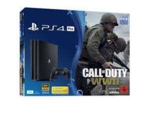 Pack Console PS4 Pro (Noir) - 1 To + Call of Duty: WWII + That's you (Frontaliers Suisse)