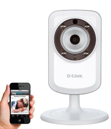 Camera IP D-LinK DCS933-L - Ethernet / Wifi (fonction répéteur) - Jour / Nuit