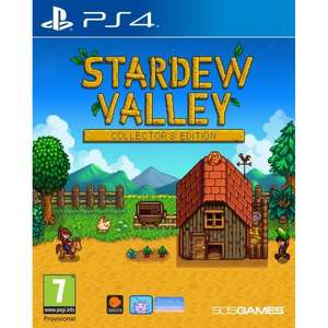 Stardew Valley Collector's Edition sur PS4 ou Xbox One