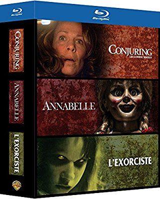 Coffret Blu-Ray - Conjuring : Les Dossiers Warren + Annabelle + L'exorciste