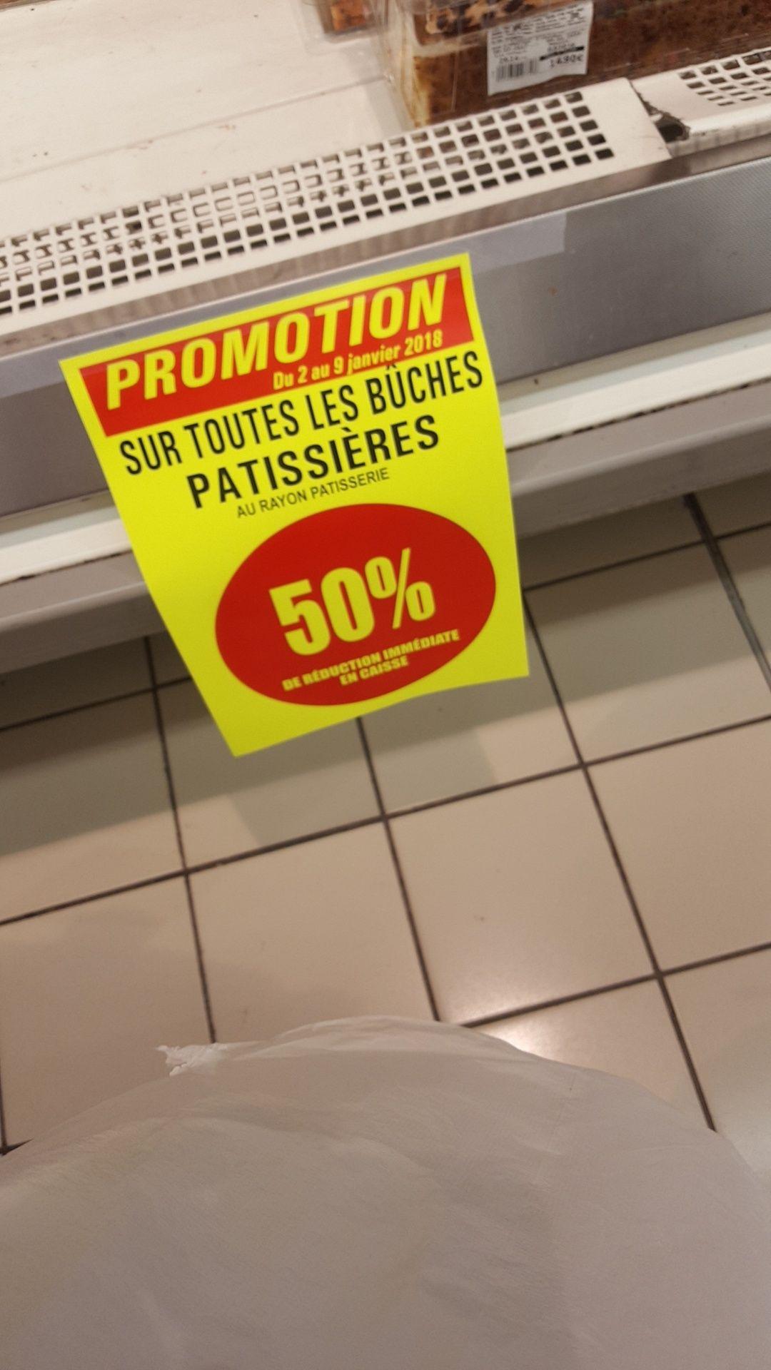 50% de réduction sur toutes les bûches patissière - Saint Partes Aux Tertres (10)