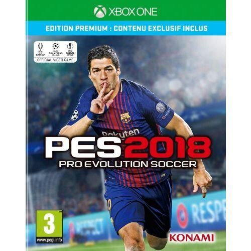 Jeu PES 2018 Edition Premium sur Xbox One et PS4