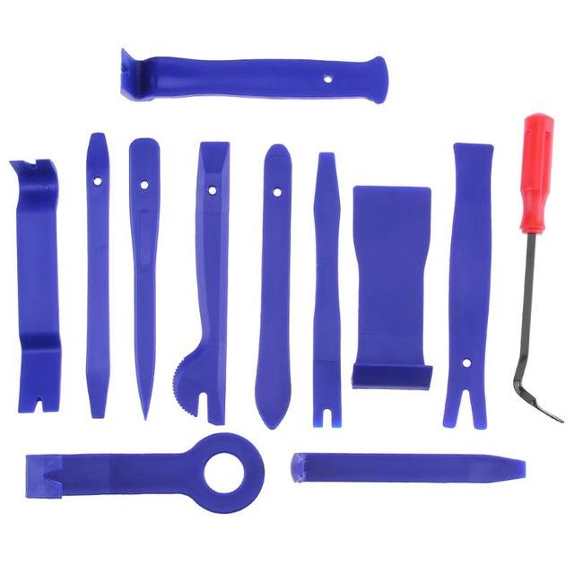 12 outils pour le démontage des panneaux intérieurs de voiture