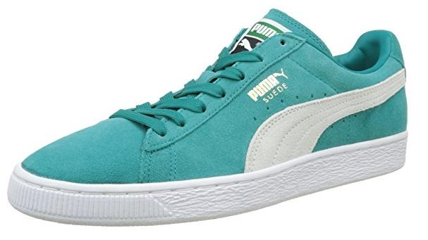 Chaussures Puma Suede Classic+ - beige ou vert, différentes tailles à partir de 21.19€