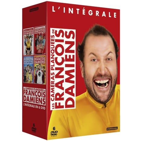Coffret DVD Les Caméras Planquées de François Damiens - L'Intégrale