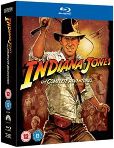 Coffret Blu-ray Indiana Jones: The Complete Collection