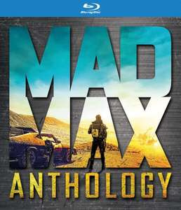 Blu-ray Mad Max Anthology (Pas de VF sur Fury Road)