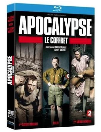 Coffret Blu-ray Apocalypse - Hitler + La 1ère Guerre Mondiale + La 2ème Guerre Mondiale
