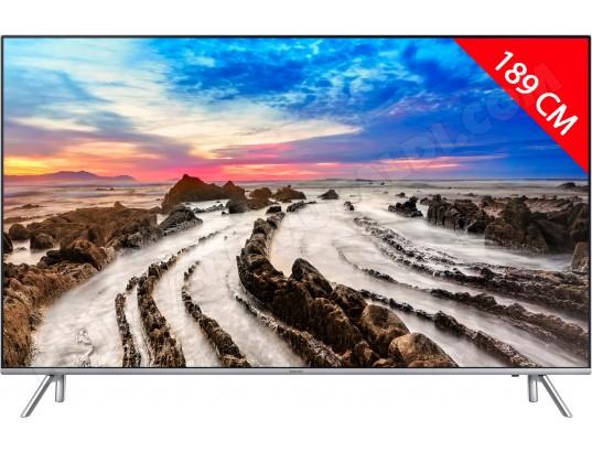 "TV 75"" Samsung UE-75MU7005  - 4K UHD, 189 cm + Barre de son HWM4501 (via ODR 1000€)"