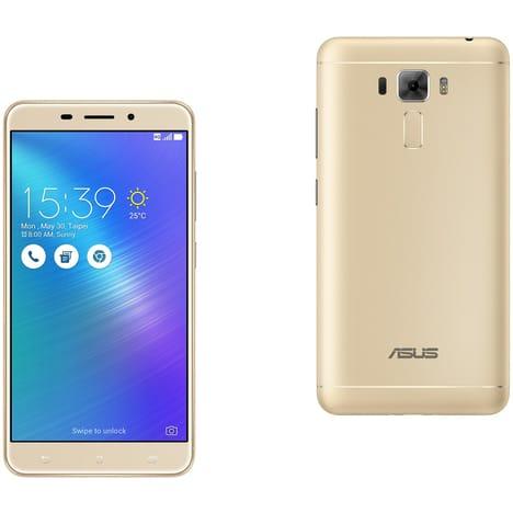 """Smartphone 5.5"""" Asus Zenfone 3 Laser - Or 32 Go"""