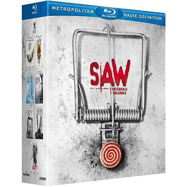 Coffret Blu-ray Saw - 1 à 7