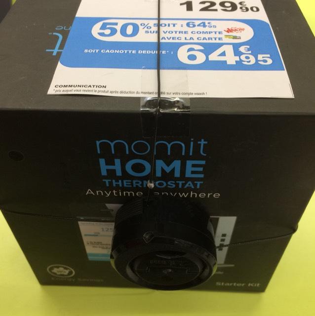 Sélection de produits en promotion - Ex : Thermostat Momit Home Starter Kit (via 64.95€ sur la carte fidélité) - Faches-Thumesnil (59)
