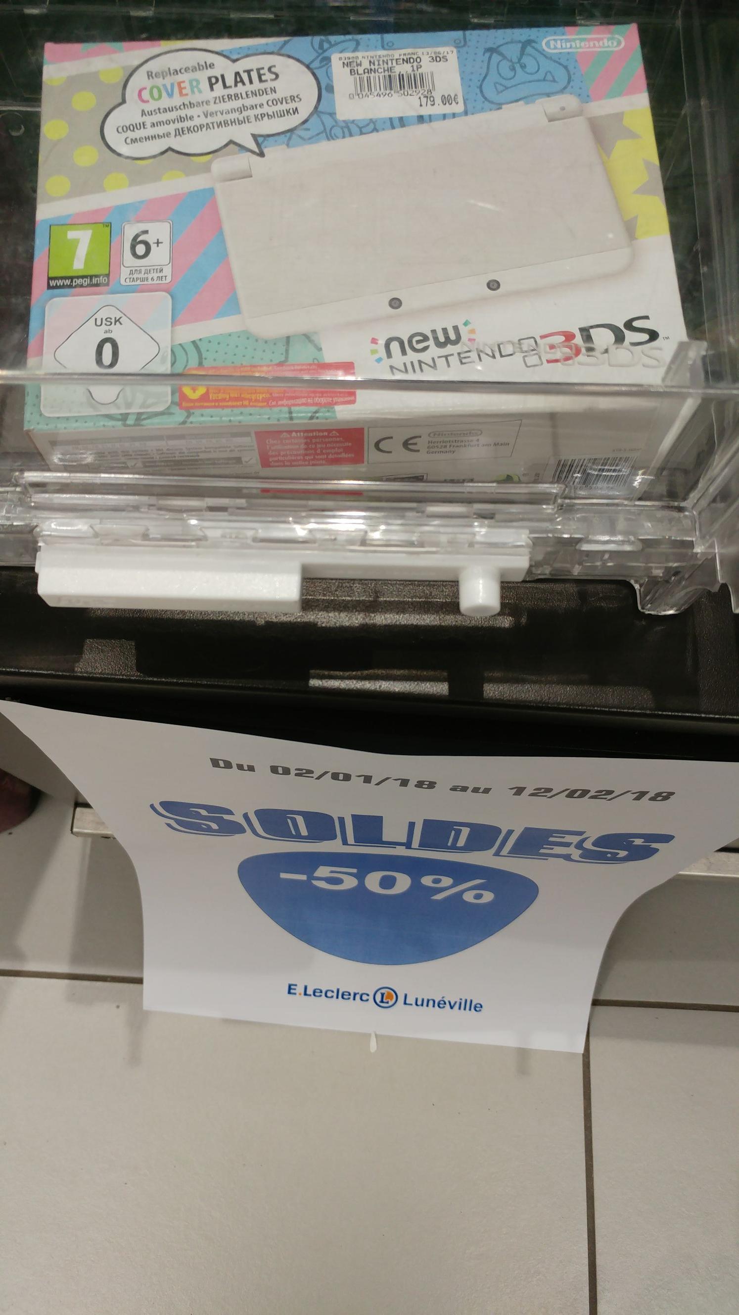 Console Nintendo New 3DS Classic - Blanche à 89,50 - Lunéville (54)