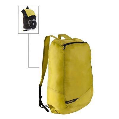 Sac à dos pliable Newfeel Pocket bag couleur anis