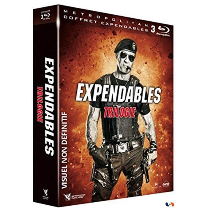 Coffret Blu-ray Expendables - La Trilogie