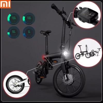 Vélo électrique pliable connecté Xiaomi QiCycle EF1 - Noir