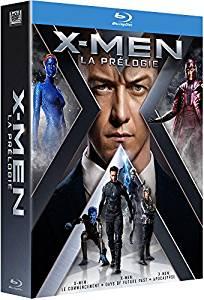 Coffret Blu-Ray X-Men - Prélogie (3 Films)