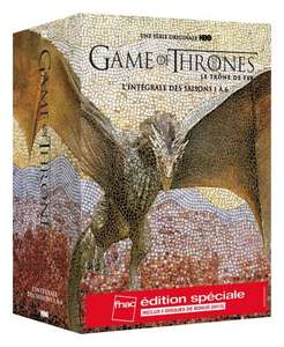 Coffret DVD Game of Thrones - Intégrale des saisons 1 à 6