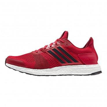 Baskets Adidas Ultra Boost Rouge pour Hommes - Tailles au choix