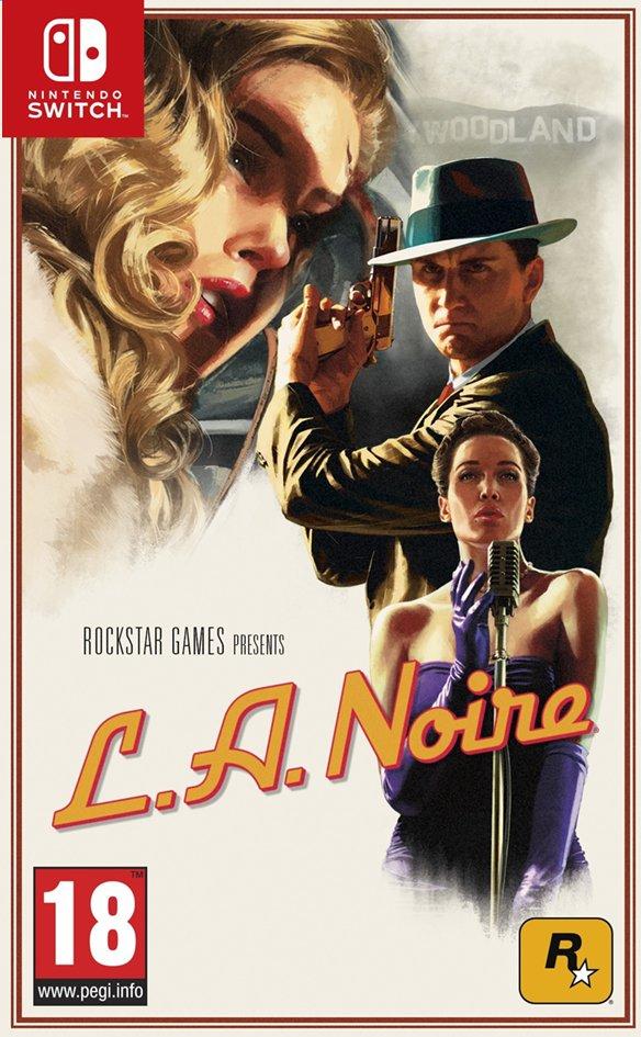 L.A. Noire sur Nintendo Switch (Frontaliers Belgique)