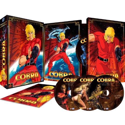 Coffret DVD Cobra Edition Collector - Intégrale + Film, (8 Disques) + Livret (Vendeur Tiers - Anime Store)