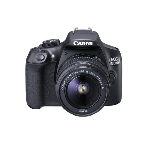 Appareil photo reflex Canon Eos 1300D + 18-55 (via 199.5€ sur la carte fidélité)