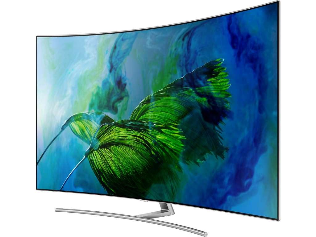 "TV QLED 55"" Samsung QE55Q8C - UHD 4K, HDR + Barre de son Samsung HW-MS6501 (Via ODR 1000€)"