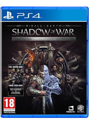 La Terre de Milieu: L'Ombre de la Guerre + Steelbook - Silver Edition PS4/Xbox One